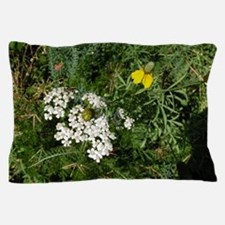 Bee on Wildflowers Pillow Case