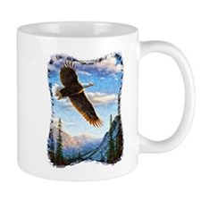 Soaring Bald Eagle Mug