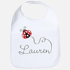 Ladybug Lauren Bib