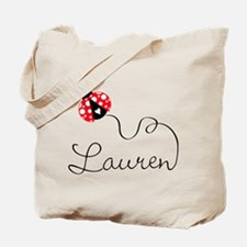 Ladybug Lauren Tote Bag