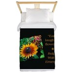 Earth Laughs in Flowers Twin Duvet