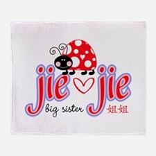Jie Jie Throw Blanket