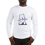 Westie Long Sleeve T Shirts