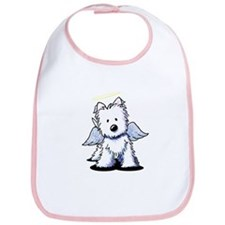 Westie Angel Bib