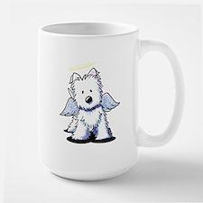 Westie Angel Large Mug