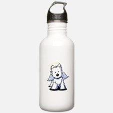 Westie Angel Water Bottle