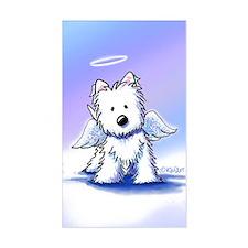Westie Angel Decal