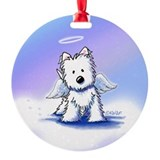 Kiniart westie angel Ornaments