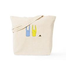 Sam and Ting Snail Tote Bag