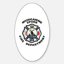 Michigamme FD  Decal