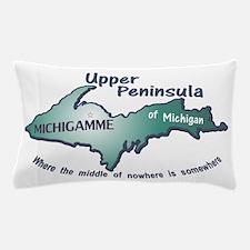 Michigamme U.P. Pillow Case