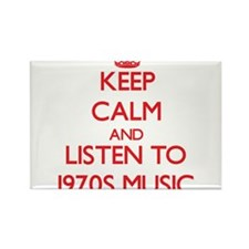Keep calm and listen to 1970S MUSIC Magnets