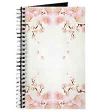 Cherry Blossom In Pink And White Journal