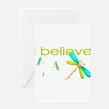 Unique Dragonflies Greeting Card