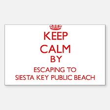 Keep calm by escaping to Siesta Key Public Beach F