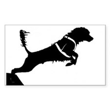 Portuguese Water Dog Jump Decal