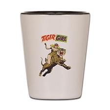 Tiger Girl Shot Glass