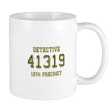 Badge Number Mug