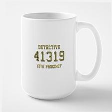 Badge Number Large Mug