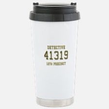 Badge Number Travel Mug