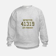 Badge Number Sweatshirt