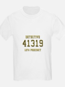 Badge Number T-Shirt