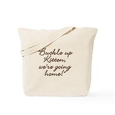 Buckle Up Tote Bag