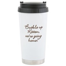 Buckle Up Travel Mug