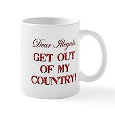 Get Out Mug