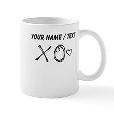 Custom XO Heart Doodle Mugs