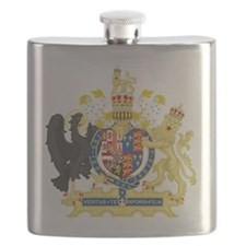 England Coat of Arms 1554-1558 Flask