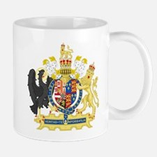 England Coat of Arms 1554-1558 Mugs