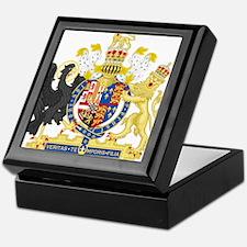 England Coat of Arms 1554-1558 Keepsake Box