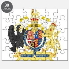 England Coat of Arms 1554-1558 Puzzle