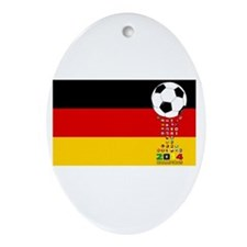 Germany World Champions 2014 Ornament (Oval)