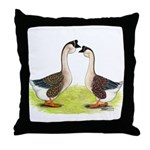 African Geese Throw Pillow
