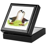 African Geese Keepsake Box