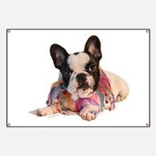 FrenchBulldogPupPied Banner
