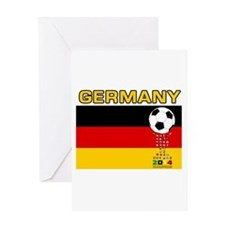 Germany World Champions 2014 Greeting Cards