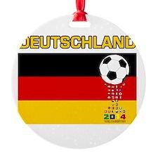 Deutschland Weltmeister 2014 Ornament