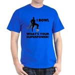 Bowling Superhero Dark T-Shirt