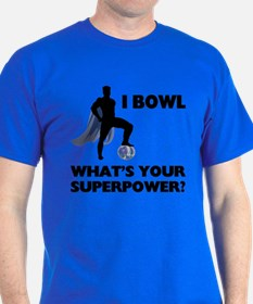 Bowling Superhero T-Shirt