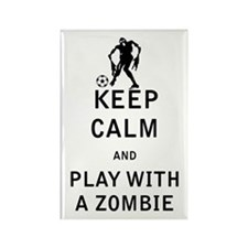 Keep Calm and Play With a Zombie Magnets