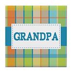 Grandpa Gift Tile Coaster