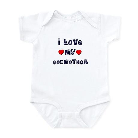 I Love MY GODMOTHER Infant Bodysuit