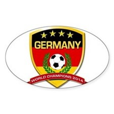 Germany World Champions 2014 Decal