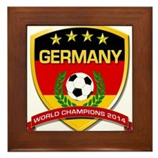 Germany World Champions 2014 Framed Tile