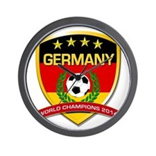 Germany World Champions 2014 Wall Clock