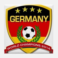 Germany World Champions 2014 Tile Coaster