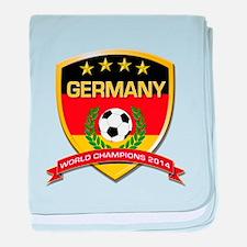 Germany World Champions 2014 baby blanket
